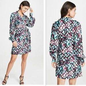 Saloni Mari Short Dress NWT 6, 12 $595